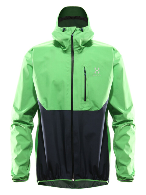 Haglöfs Gram Comp Jacket Men sugarsnap green/deep blue